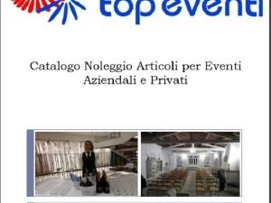Catalogo Top Eventi 2020 - Noleggio