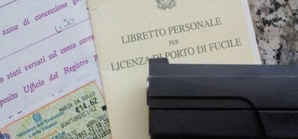 Licenza Porto d'Armi