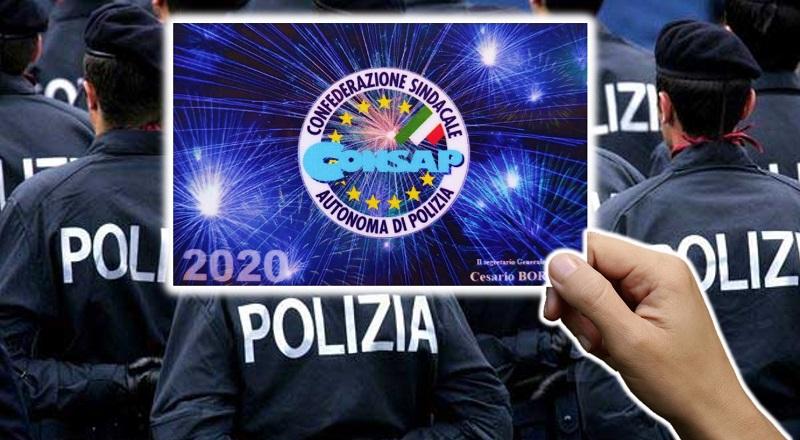 Tessera Adesione CONSAP 2020 - Manifesto