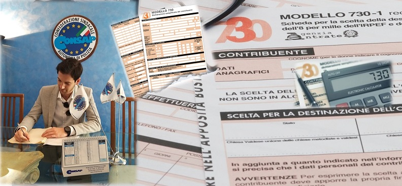 Assistenza Fiscale CONSAP Roma 2020