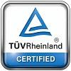 Certificazione TÜV Rheinland - Alto livello di qualità