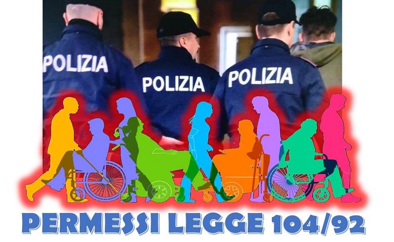 Permessi LEGGE Aggiuntivi Legge 104/92 per i Poliziotti