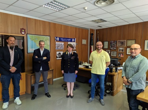 Sezione Polizia Stradale ROMA - Incontro CONSAP dott.ssa Barbara BARRA