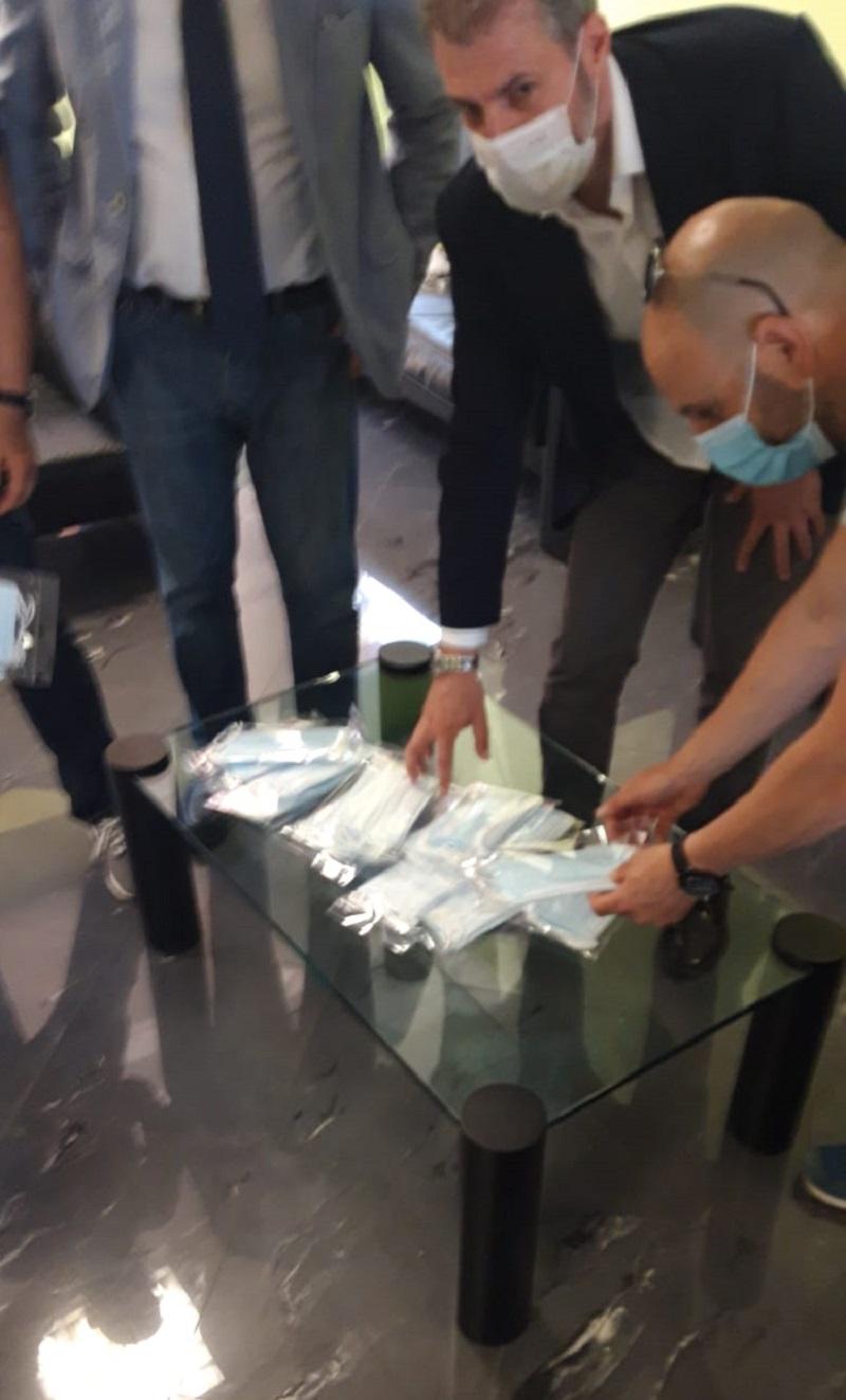 CONSAP, mascherine omaggio ai Poliziotti della Polizia Stradale ROMA