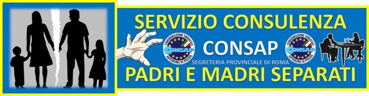 Servizio Consulenza CONSAP Padri e Madri Separati
