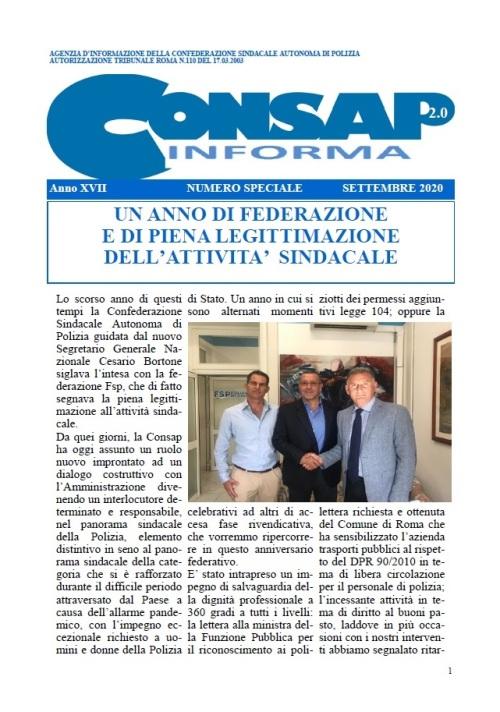 CONSAP Informa - Speciale 2020
