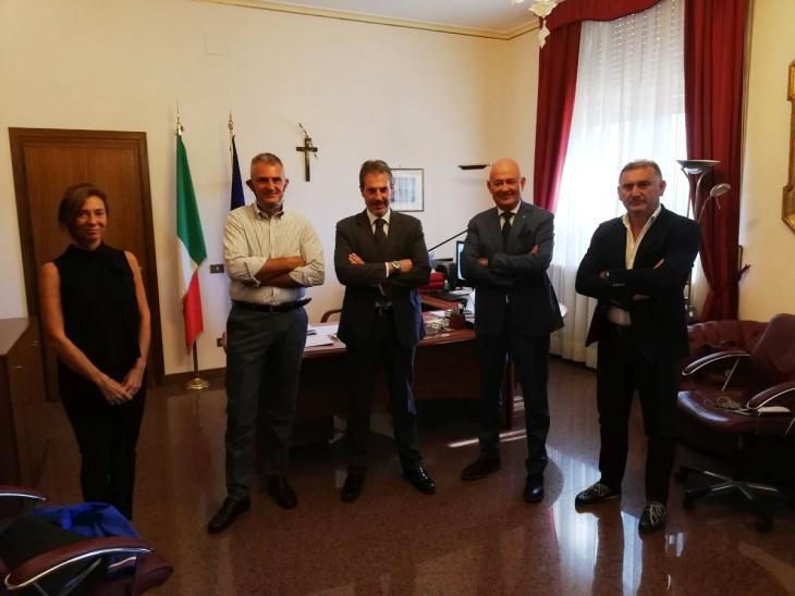 Incontro CONSAP e dr MONTINI - USTG Ministero Interno
