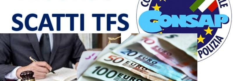 CONSAP: Ricorso avverso la negazione degli scatti del TFS per il personale in quiescenza