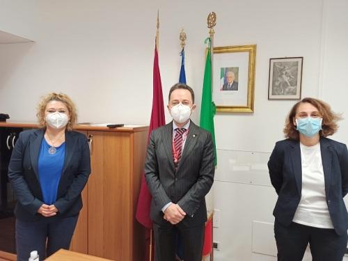 Fiumicino: 5^ Zona Polizia di Frontiera – Lazio – Umbria – Sardegna, la CONSAP incontra il neo Dirigente dr Giovanni BUSACCA