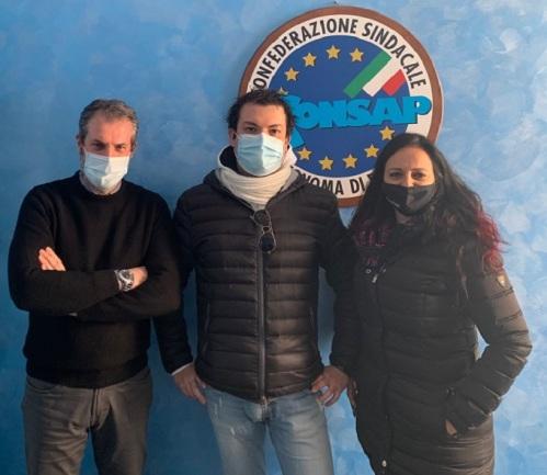 Damiano LUCIA - Coordinatore Provinciale CONSAP Roma