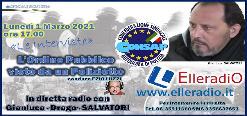 Ordine Pubblico - Elleradio Gianluca Drago Salvatori