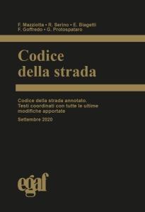 Codice della Strada Egaf - Settembre 2020