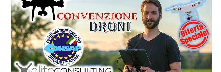 Convenzione DRONI - CONSAP ROMA