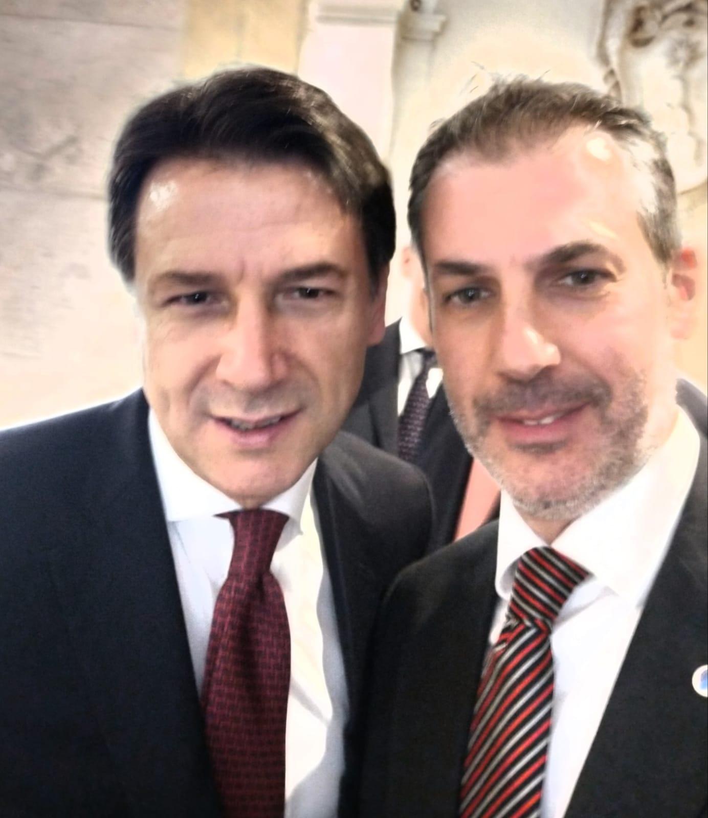 Gianluca GUERRISI - Presidente Giuseppe Conte
