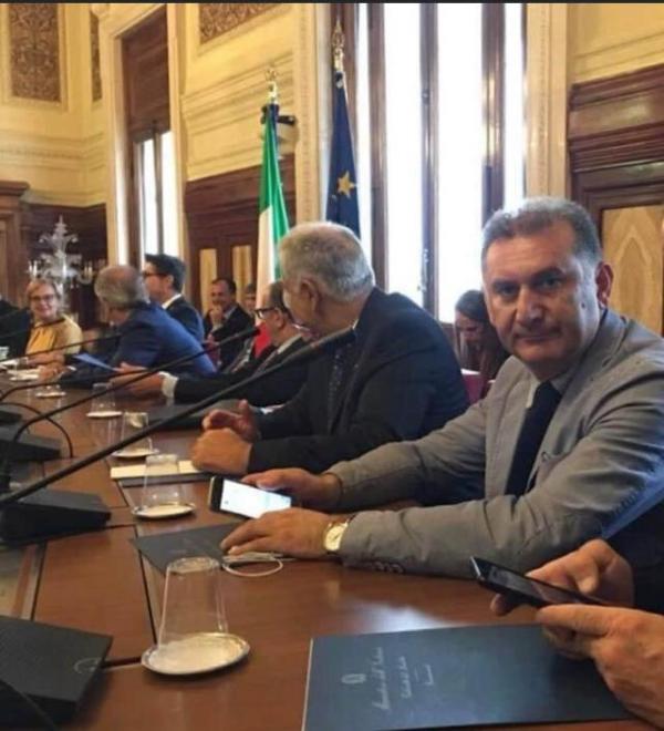 Cesario Bortone , Segretario Generale Nazionale CONSAP