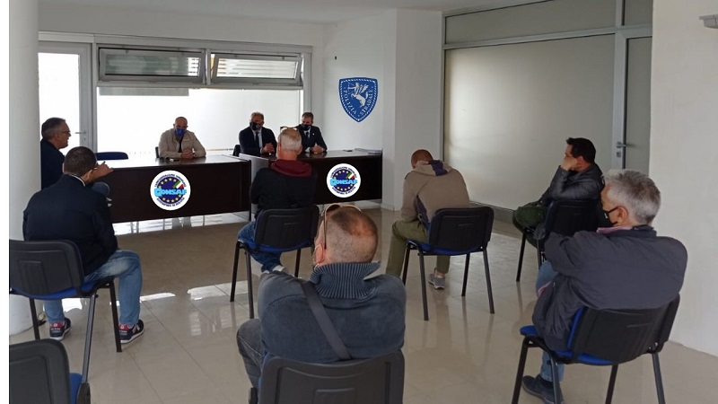 Assemblea Sindacale CONSAP Polizia Stradale ROMA