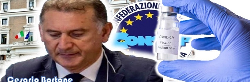 CONSAP, SINDACATO POLIZIA SODDISFATTO PER PERCENTUALE ALTA VACCINAZIONI