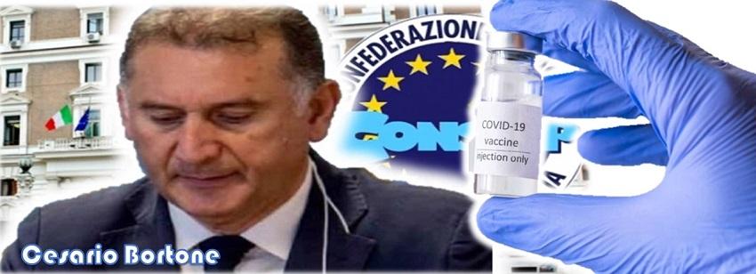 CONSAP, SINDACATO POLIZIA SODDISFATTO PER PERCENTUALE ALTA VACCINAZIONI.