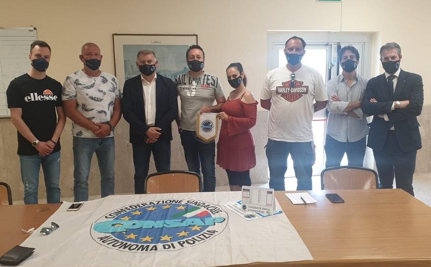 Assemblea CONSAP alla Polizia di Frontiera Marittima a Civitavecchia (RM)