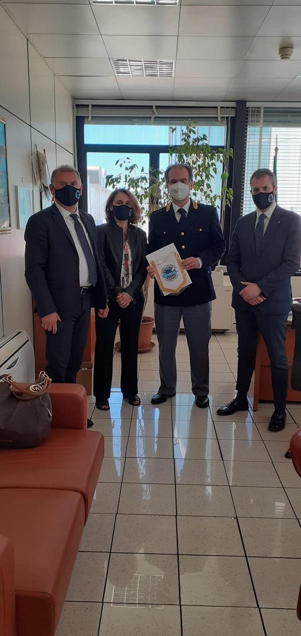 dr Giovanni CASAVOLA - Polaria Ufficio Polizia Frontiera Aerea ROMA