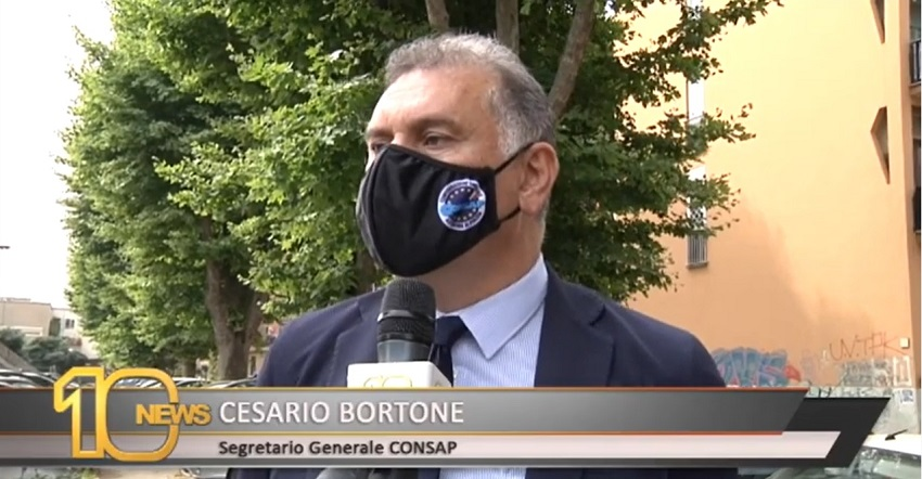 UTILIZZO DEL TASER PER GLI OPERATORI DI POLIZIA. INTERVISTA A CESARIO BORTONE - CANALE 10
