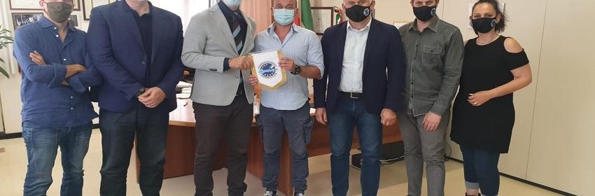 Commissariato di P.S. San Basilio incontro con il Dirigente dott. Eugenio FERRARO