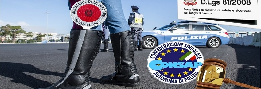 Polizia Stradale ROMA - Denuncia CONSAP